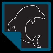 Dolphin Note - notas de color icon