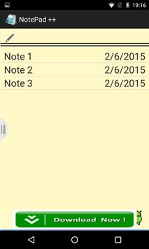 Notepad ++ for Android screenshot 1