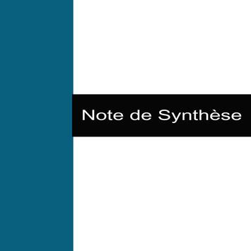 Note de Synthèse poster