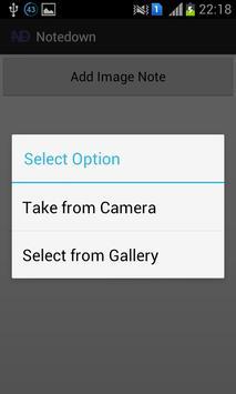 NoteDown apk screenshot
