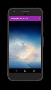 Wallpaper for Note S8 apk screenshot