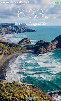Lock Screen OS8 screenshot 4