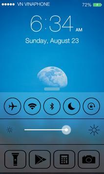 Lock Screen OS8 screenshot 1