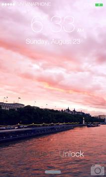 Lock Screen OS8 screenshot 2