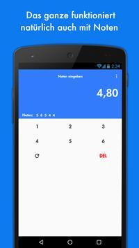 15 Punkte - Dein Notenrechner! screenshot 2