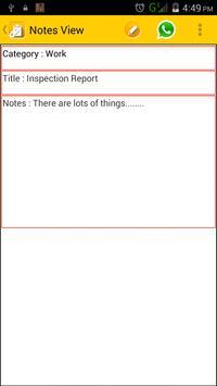 Note App screenshot 3