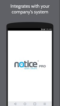 Notice PRO poster
