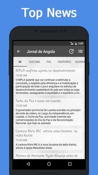 News Angola screenshot 2
