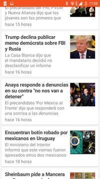 Últimas noticias de México screenshot 4