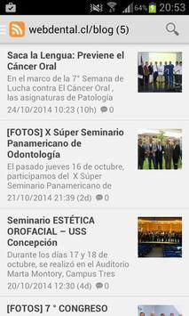 Noticias de Odontologia apk screenshot