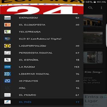 Noticias en España screenshot 1