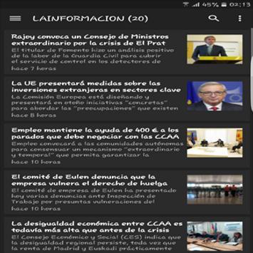 Noticias en España screenshot 3