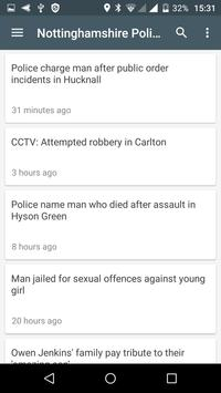Nottingham free news screenshot 3