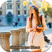 Shirt Dress Outfit Ideas icon