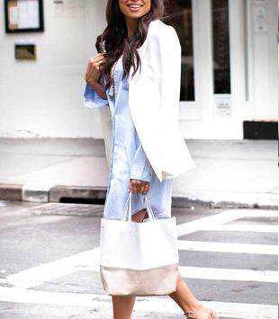 Shirt Dress Outfit Ideas screenshot 1