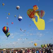 Albuquerque balloon Stickers icon