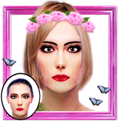 Hair And Flowers Crown maker icon