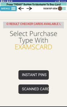 EXAMSCARD screenshot 3