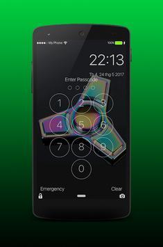 Fidget Spinner Lock Screen PRO screenshot 2