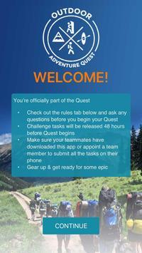 Outdoor Adventure Quest poster