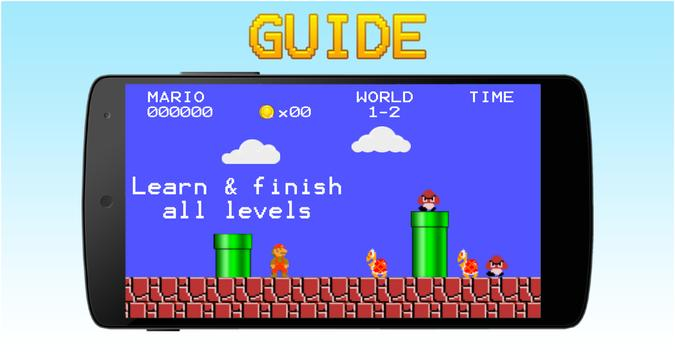 Guide for Super Mario Bros poster