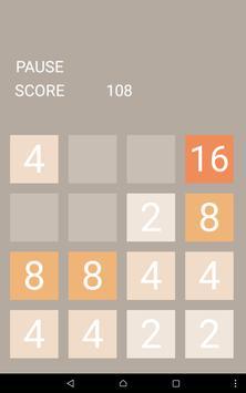 Puzzle 2048 apk screenshot