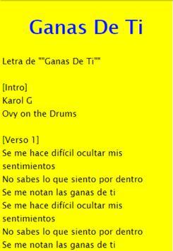 Ahora Me Llama - Karol G, Bad Bunny apk screenshot