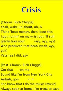 Rich Chigga ft. 21 Savage - Crisis apk screenshot