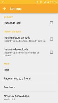 Novobox apk screenshot