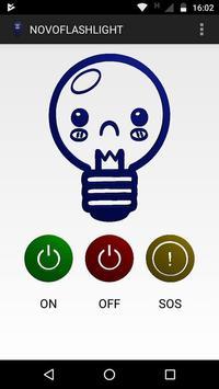 NOVOFLASHLIGHT (lamp, light, flash, screen) poster