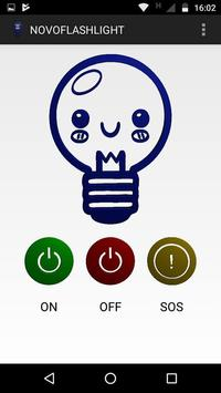 NOVOFLASHLIGHT (lamp, light, flash, screen) apk screenshot