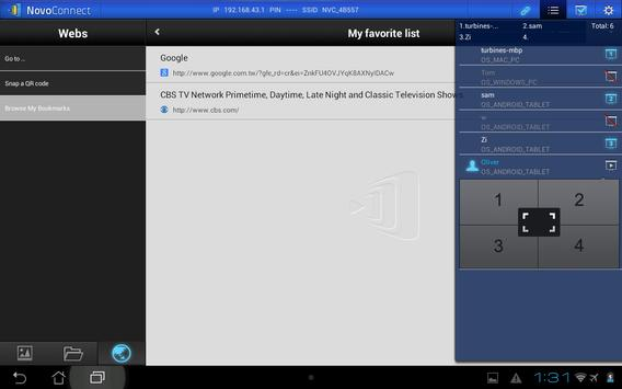 NovoPresenter apk screenshot