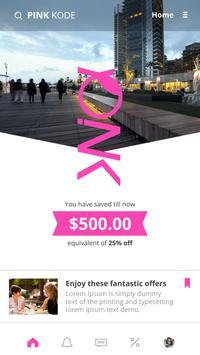 Pink kode apk screenshot