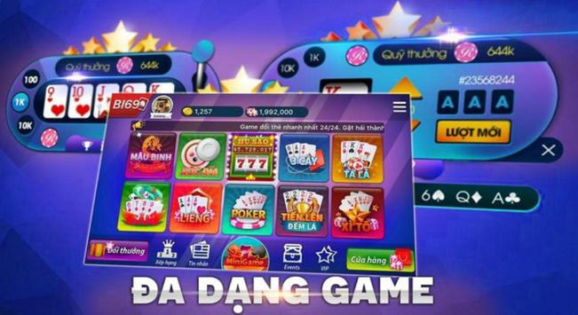 Game danh bai doi thuong, Bon Xeng Club poster