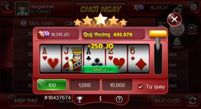 Game danh bai doi thuong, Bon Xeng Club screenshot 1