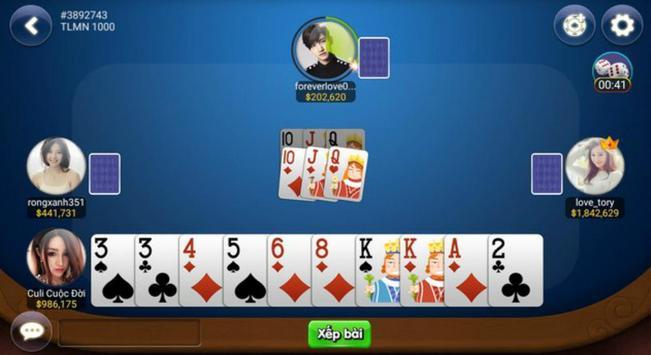 Game danh bai doi thuong, Bon Xeng Club screenshot 2