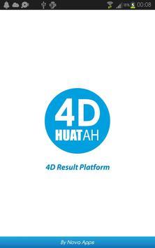 4D Huat Ah! Results (MY & SG) poster