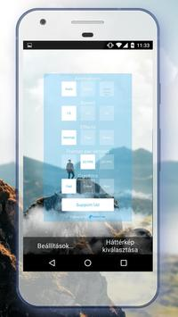 Parallax Mountain Live Wallpaper II FREE apk screenshot