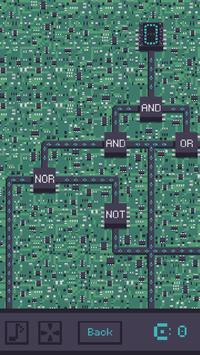 Circuit: Logic Gate Puzzle screenshot 1
