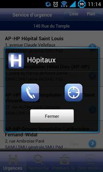 Hôpitaux apk screenshot