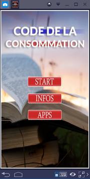 CODE DE LA CONSOMMATION poster