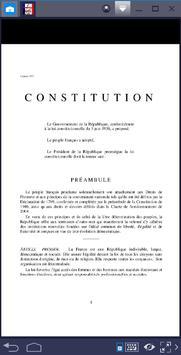 Constitution Française 2018 apk screenshot