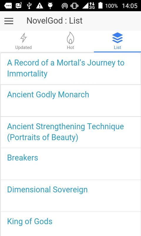 NovelGod: Reading Light Novel para Android - APK Baixar