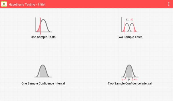 Hypothesis Testing - I [lite] for Android - APK Download