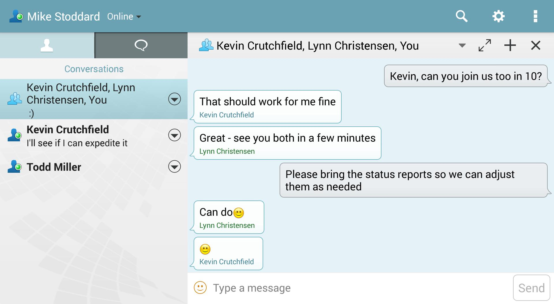 Micro Focus Messenger for Android - APK Download