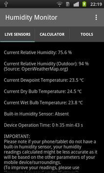 Humidity Monitor - Sensors poster