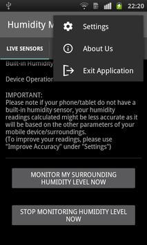 Humidity Monitor - Sensors apk screenshot