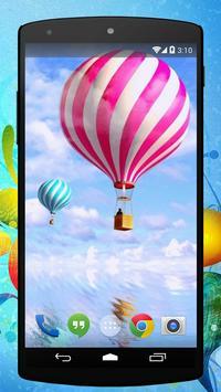Air Balloon Live Wallpaper poster