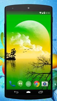 Alien Sunset Live Wallpaper poster