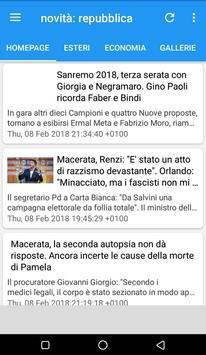 News: la Repubblica.it screenshot 2